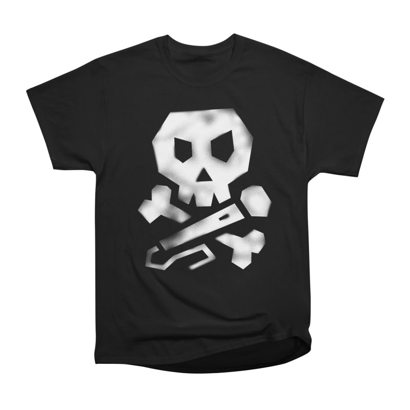 Funnybones - Graffiti - White Men's Heavyweight T-Shirt by Can Do Comedy Official Merchandise Store