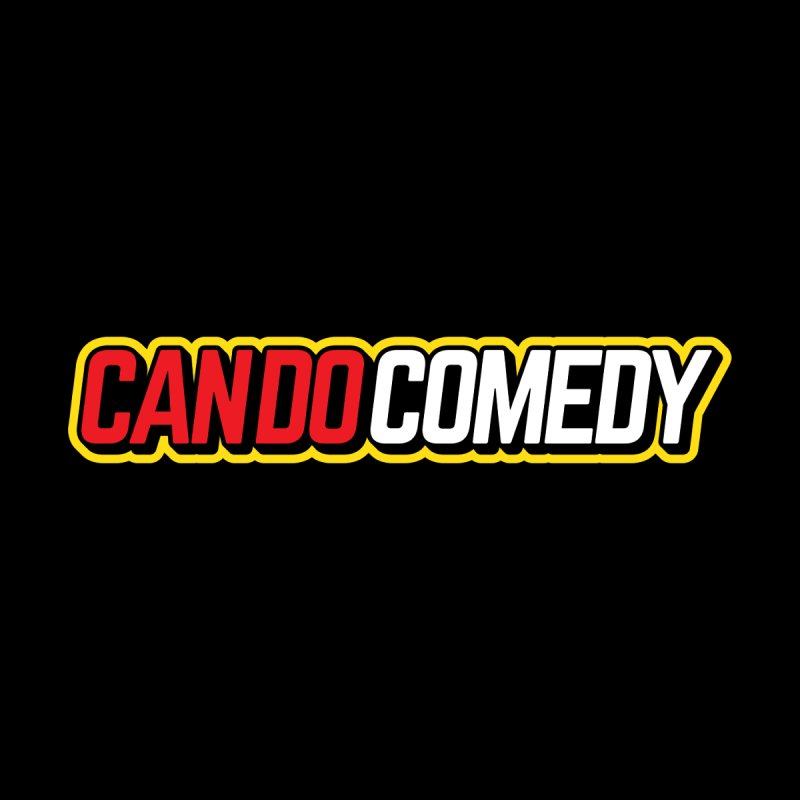 Can Do Comedy Outline Men's T-Shirt by Can Do Comedy Official Merchandise Store