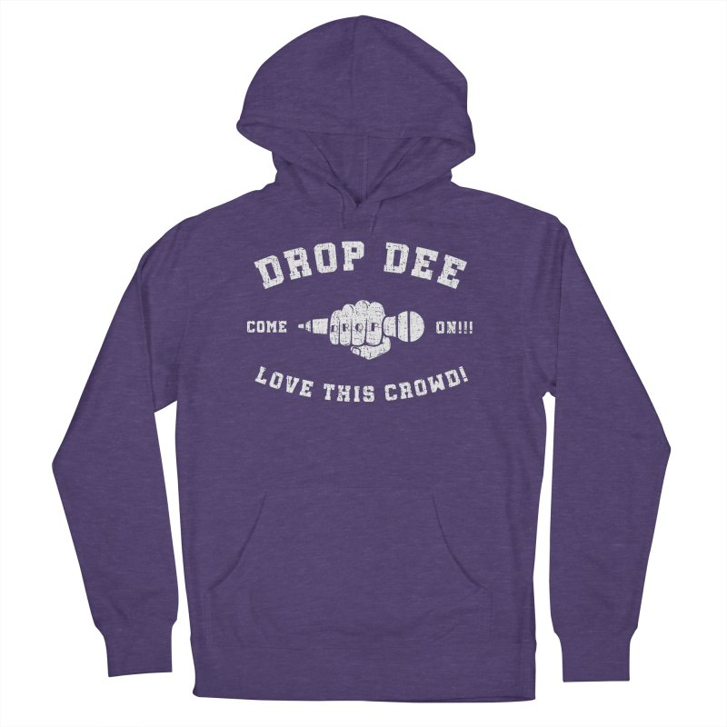 Drop Dee - Vintage Style Men's French Terry Pullover Hoody by Can Do Comedy Official Merchandise Store
