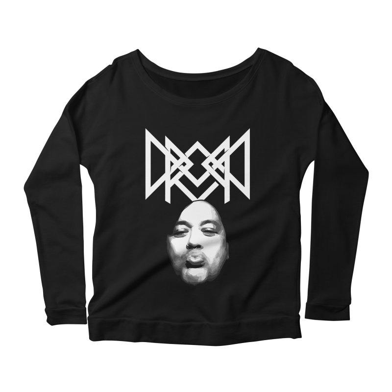 Drop Dee - Metal Style Women's Scoop Neck Longsleeve T-Shirt by Can Do Comedy Official Merchandise Store