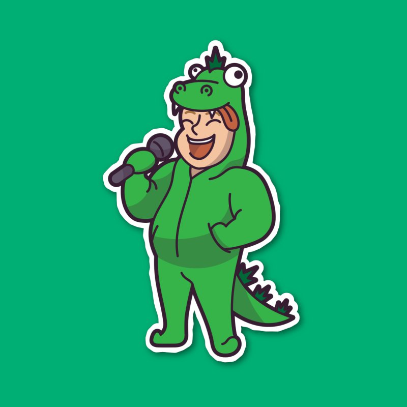 Cartoon Character Big #2 (Zilla) by Can Do Comedy Official Merchandise Store