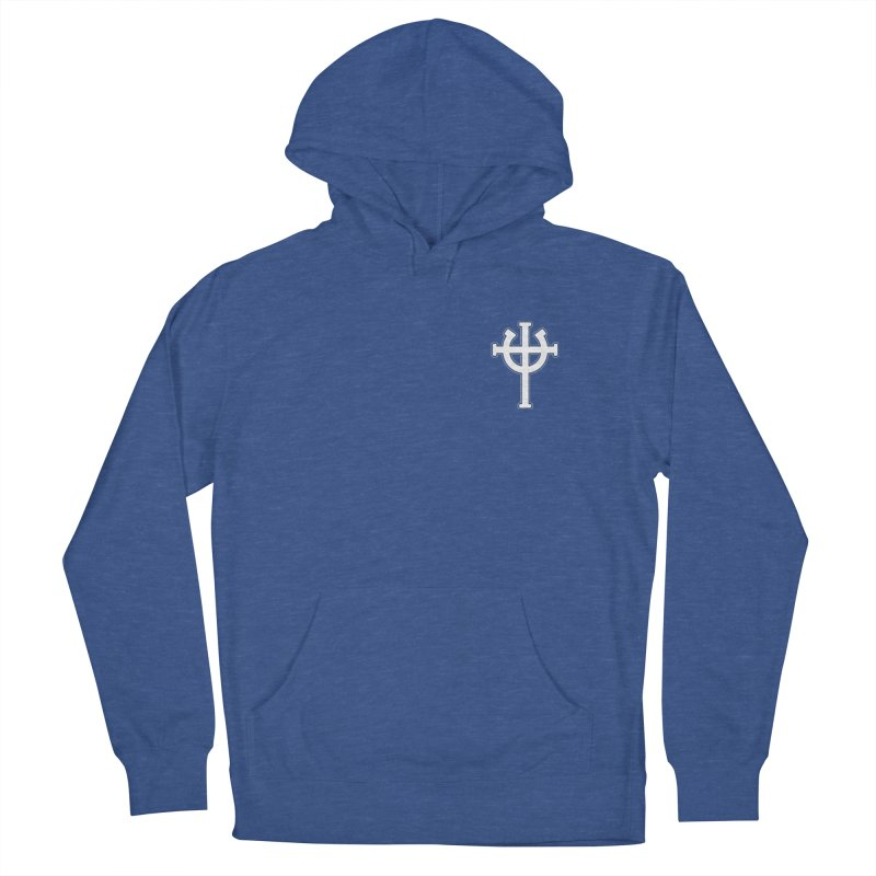 Horse Jesus Cross Pocket Print Women's French Terry Pullover Hoody by Can Do Comedy Official Merchandise Store