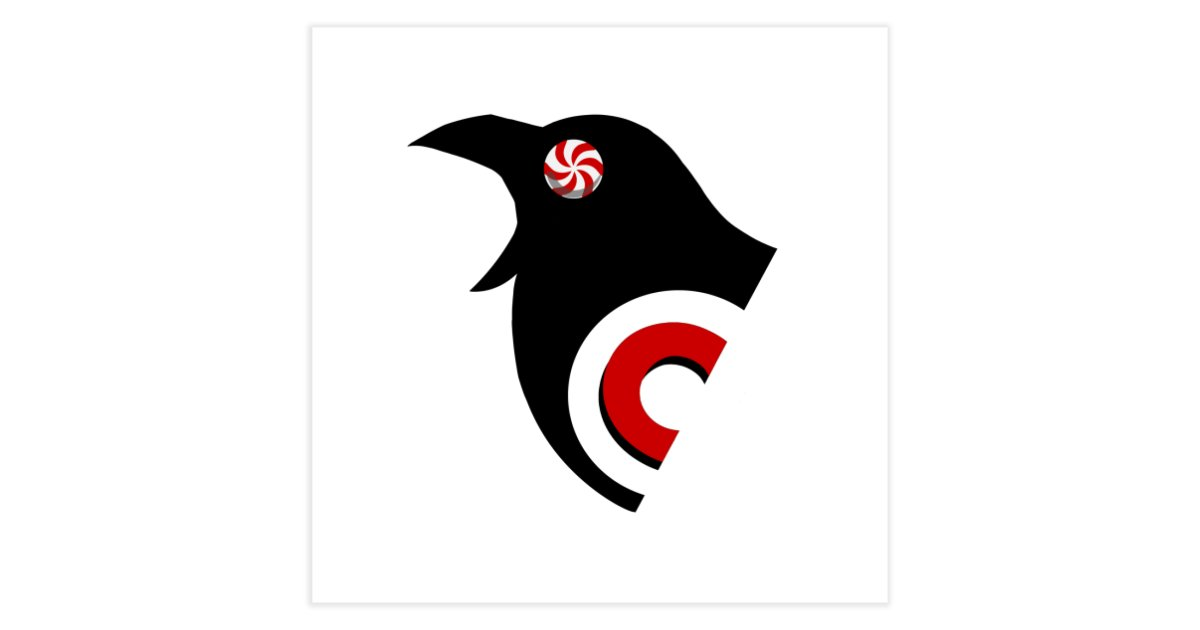 37235cc33b46d candycrow candy-crow-logo-red-variant-1 home fine-art-print