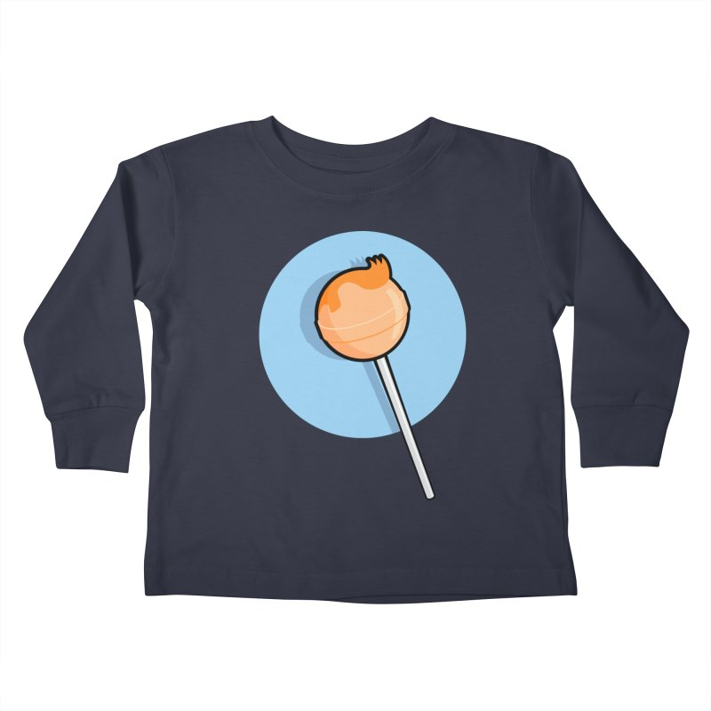 A Sucker for Adventure Kids Toddler Longsleeve T-Shirt by Candy Guru's Shop