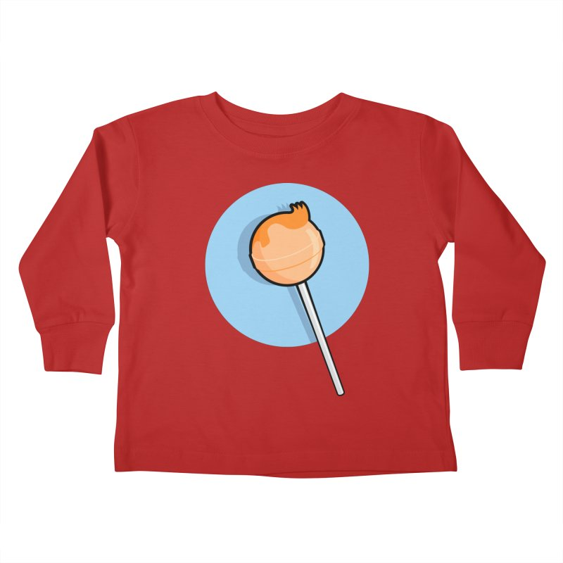 A Sucker for Adventure Kids Toddler Longsleeve T-Shirt by Candy Guru's Shop
