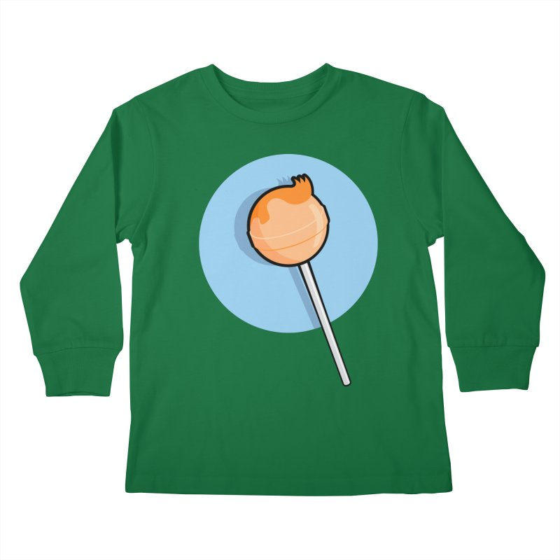 A Sucker for Adventure Kids Longsleeve T-Shirt by Candy Guru's Shop