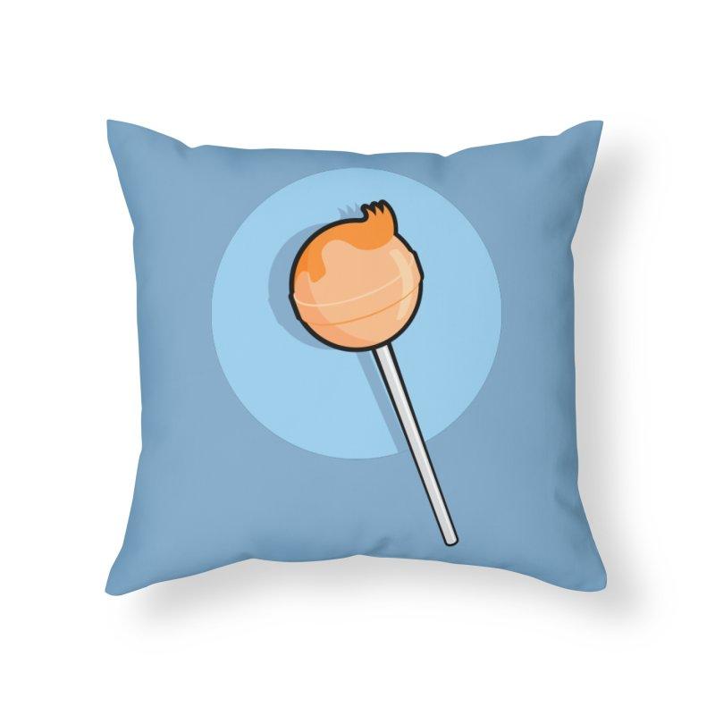 A Sucker for Adventure Home Throw Pillow by Candy Guru's Shop