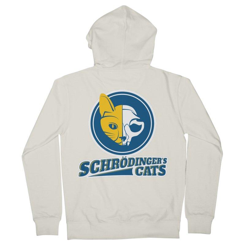 Schrödinger's Cats Men's Zip-Up Hoody by Candy Guru's Shop