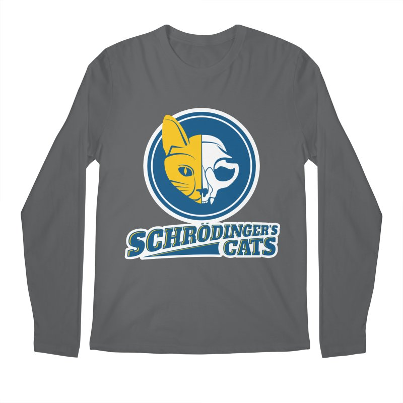 Schrödinger's Cats Men's Longsleeve T-Shirt by Candy Guru's Shop