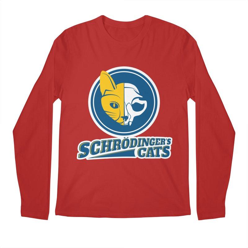 Schrödinger's Cats Men's Longsleeve T-Shirt by Candy Guru's Shop