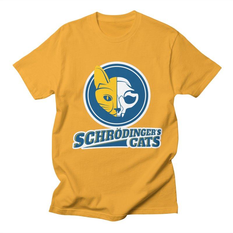 Schrödinger's Cats Men's T-Shirt by Candy Guru's Shop