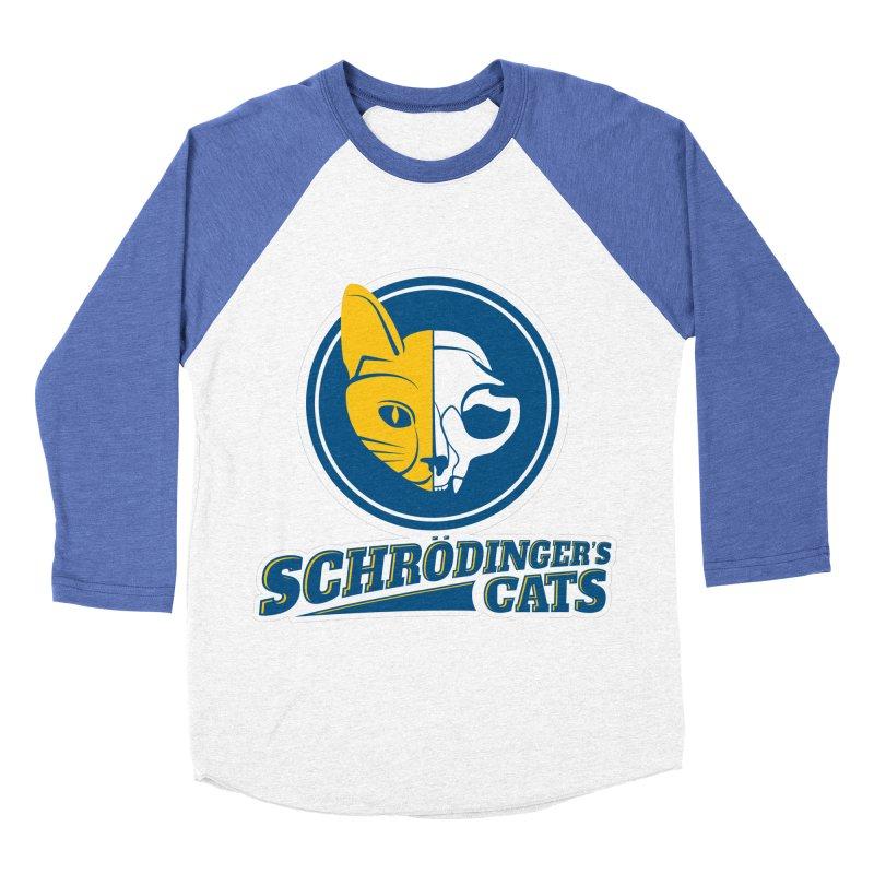 Schrödinger's Cats Men's Baseball Triblend T-Shirt by Candy Guru's Shop