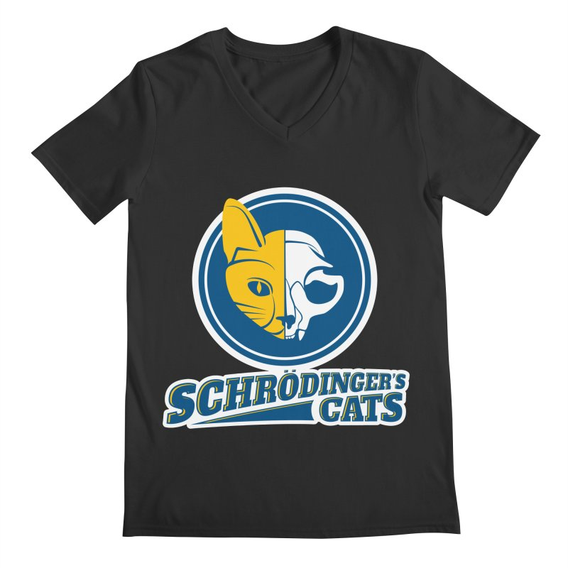 Schrödinger's Cats Men's V-Neck by Candy Guru's Shop
