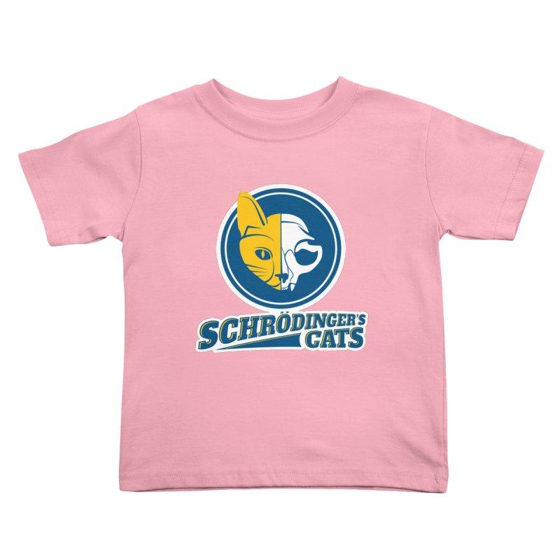 Schrödinger's Cats Kids Toddler T-Shirt by Candy Guru's Shop