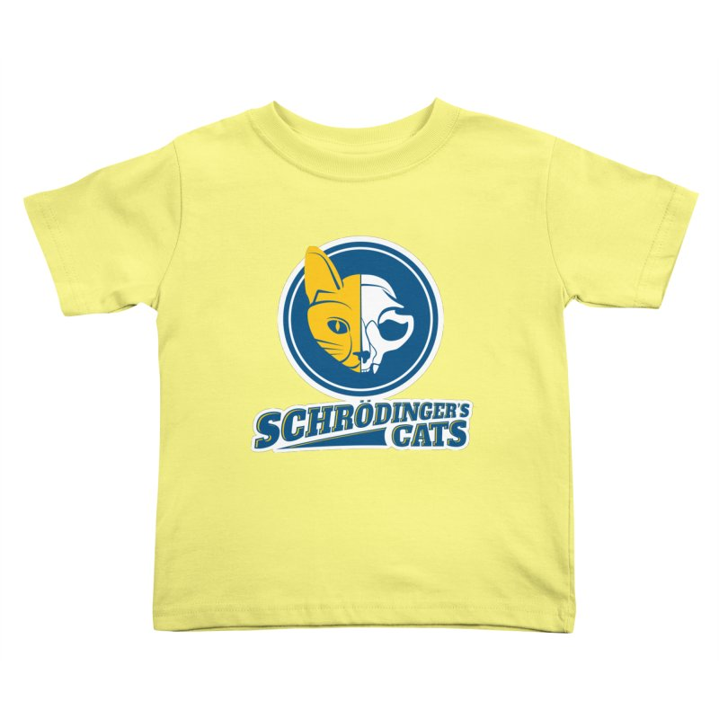 Schrödinger's Cats Kids Toddler T-Shirt by Candy Guru's Shop