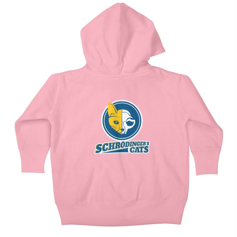 Schrödinger's Cats Kids Baby Zip-Up Hoody by Candy Guru's Shop