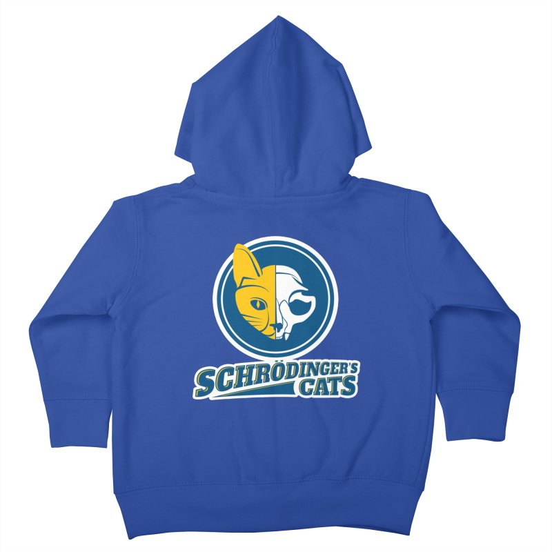 Schrödinger's Cats Kids Toddler Zip-Up Hoody by Candy Guru's Shop