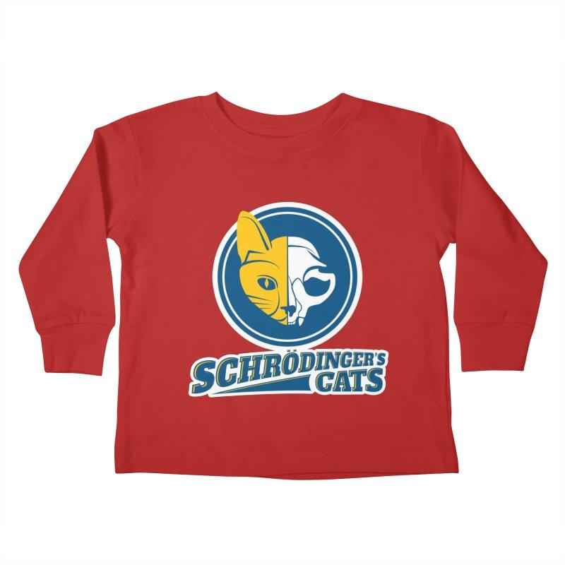 Schrödinger's Cats Kids Toddler Longsleeve T-Shirt by Candy Guru's Shop