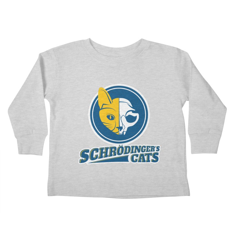 Schrödinger's Cats Kids Toddler Longsleeve T-Shirt by Candy Guru's Shop