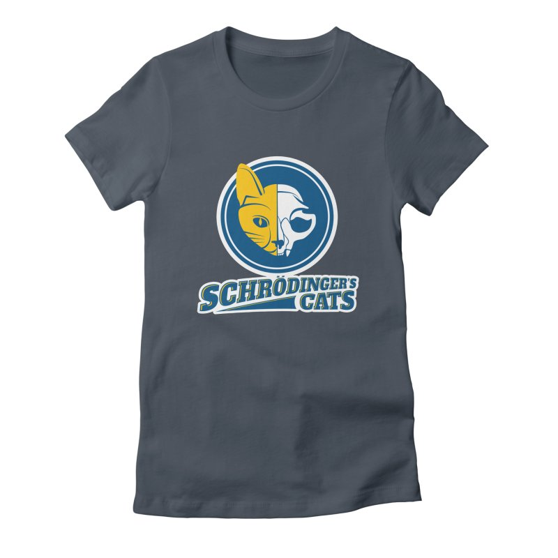 Schrödinger's Cats Women's T-Shirt by Candy Guru's Shop