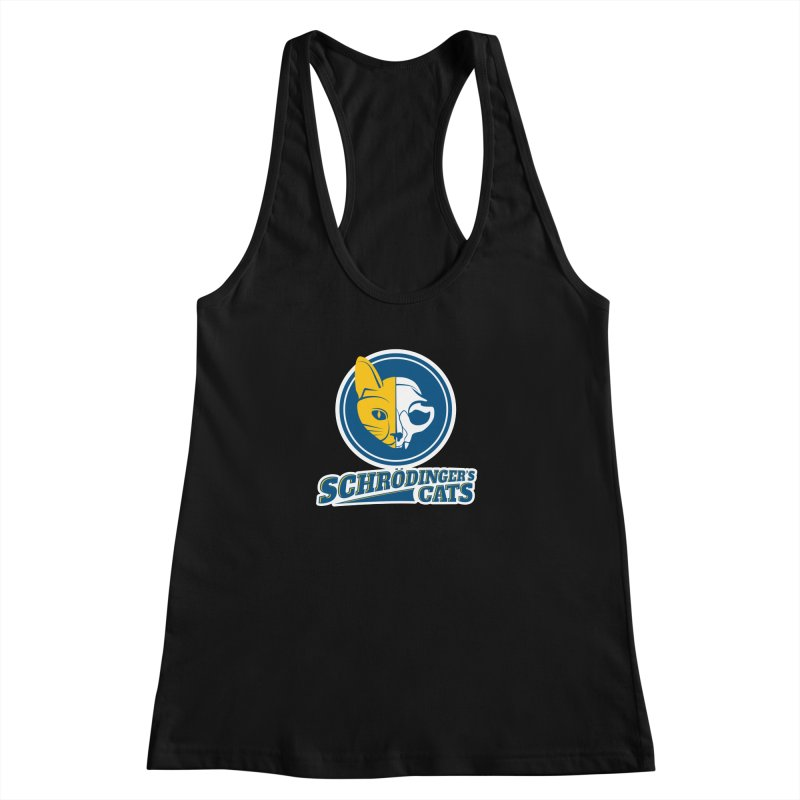 Schrödinger's Cats Women's Racerback Tank by Candy Guru's Shop