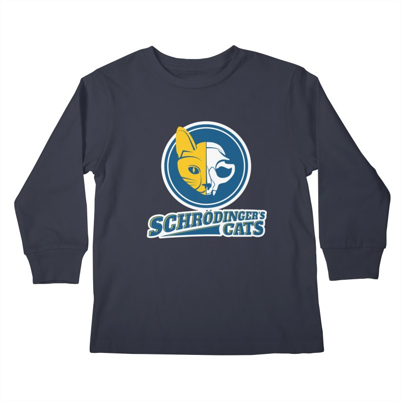 Schrödinger's Cats Kids Longsleeve T-Shirt by Candy Guru's Shop
