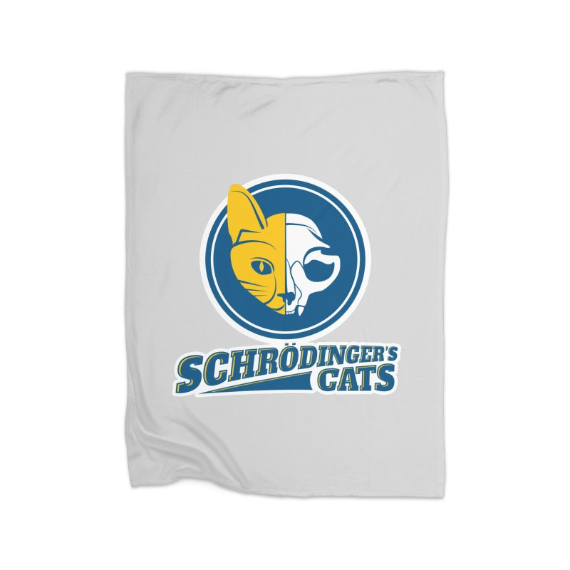 Schrödinger's Cats Home Blanket by Candy Guru's Shop