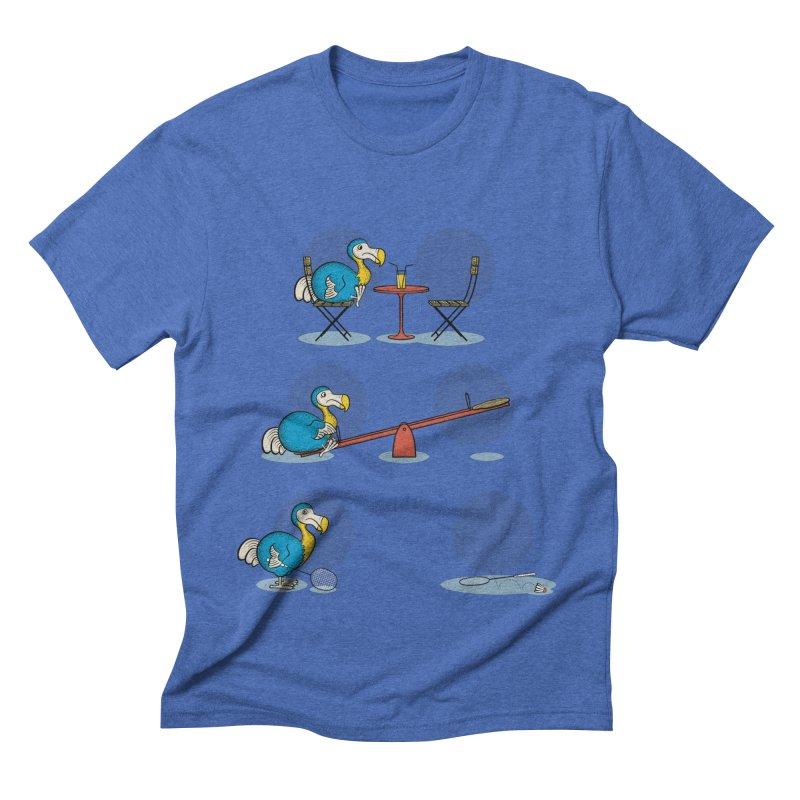 The Last Dodo Men's Triblend T-shirt by Candy Guru's Shop
