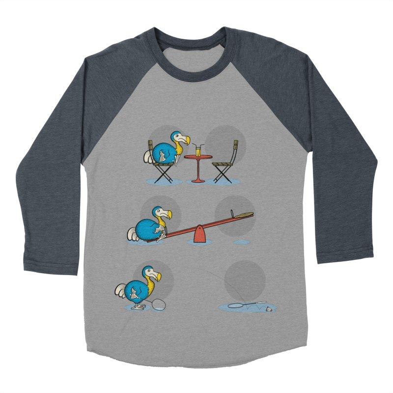 The Last Dodo Men's Baseball Triblend T-Shirt by Candy Guru's Shop