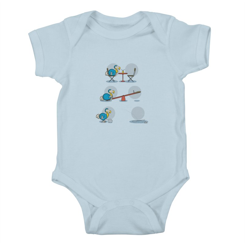 The Last Dodo Kids Baby Bodysuit by Candy Guru's Shop