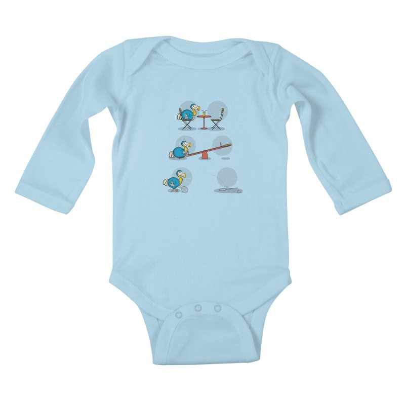 The Last Dodo Kids Baby Longsleeve Bodysuit by Candy Guru's Shop