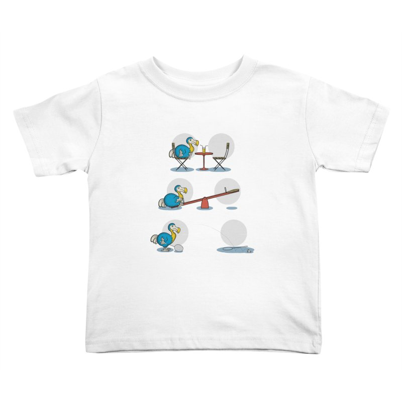 The Last Dodo Kids Toddler T-Shirt by Candy Guru's Shop