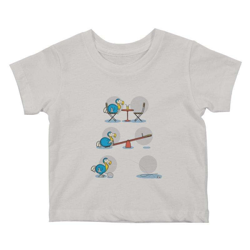 The Last Dodo Kids Baby T-Shirt by Candy Guru's Shop