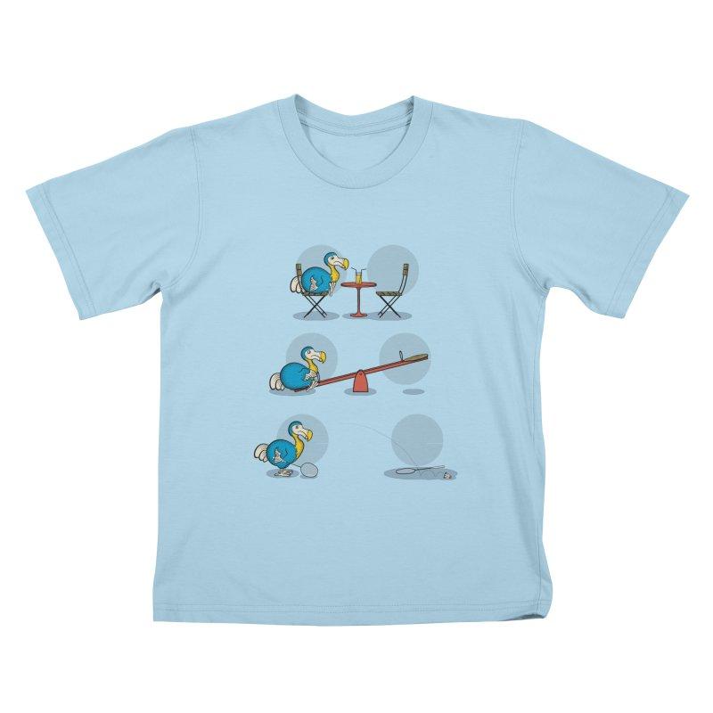 The Last Dodo Kids T-shirt by Candy Guru's Shop