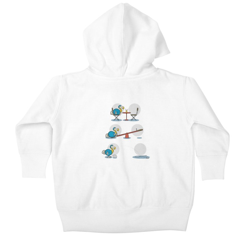 The Last Dodo Kids Baby Zip-Up Hoody by Candy Guru's Shop