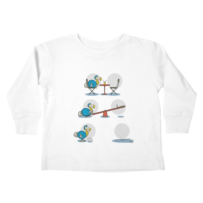 The Last Dodo Kids Toddler Longsleeve T-Shirt by Candy Guru's Shop