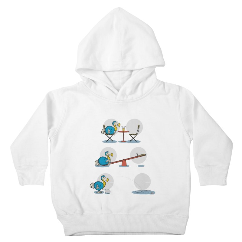 The Last Dodo Kids Toddler Pullover Hoody by Candy Guru's Shop