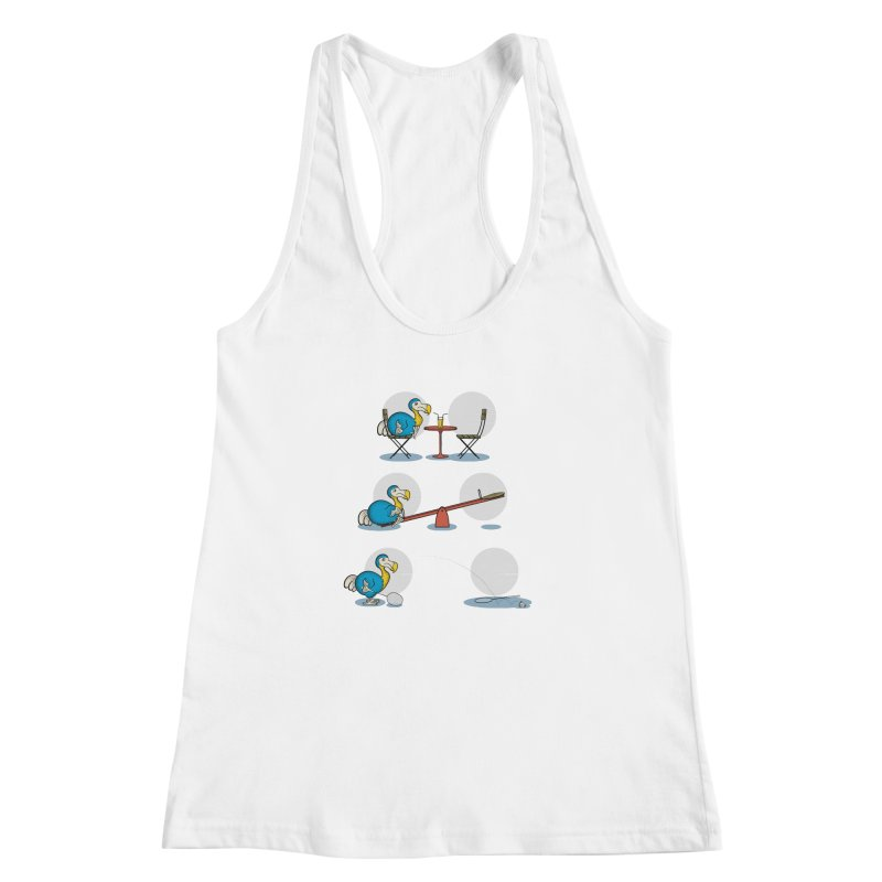 The Last Dodo Women's Racerback Tank by Candy Guru's Shop