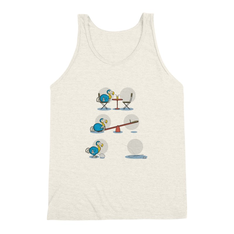 The Last Dodo Men's Triblend Tank by Candy Guru's Shop