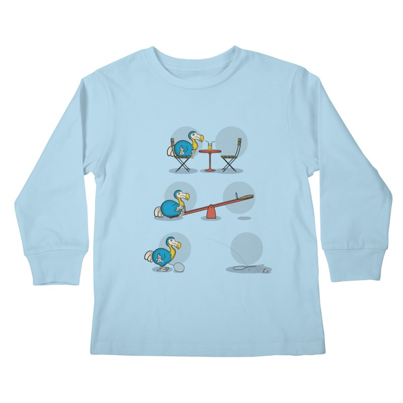 The Last Dodo Kids Longsleeve T-Shirt by Candy Guru's Shop