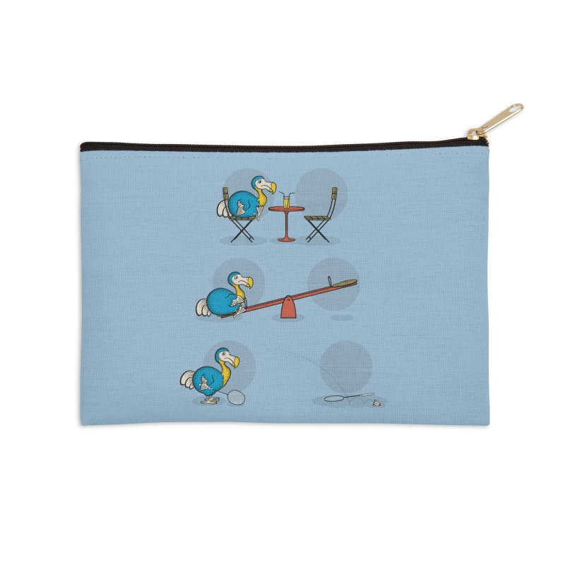 The Last Dodo Accessories Zip Pouch by Candy Guru's Shop