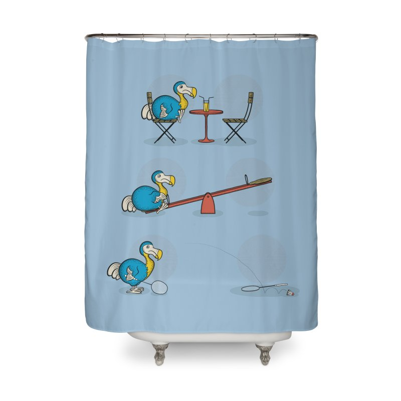 The Last Dodo Home Shower Curtain by Candy Guru's Shop