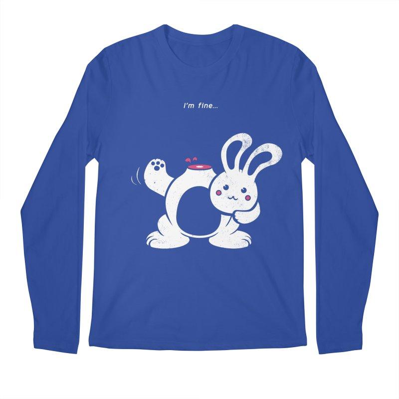 I'm Fine Men's Longsleeve T-Shirt by Candy Guru's Shop