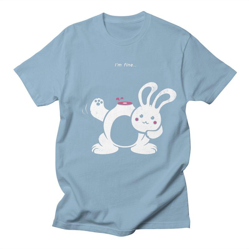 I'm Fine Men's T-Shirt by Candy Guru's Shop