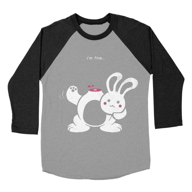 I'm Fine Women's Baseball Triblend T-Shirt by Candy Guru's Shop