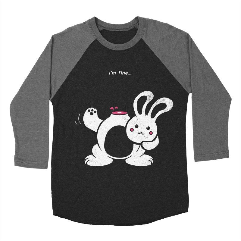 I'm Fine Men's Baseball Triblend T-Shirt by Candy Guru's Shop