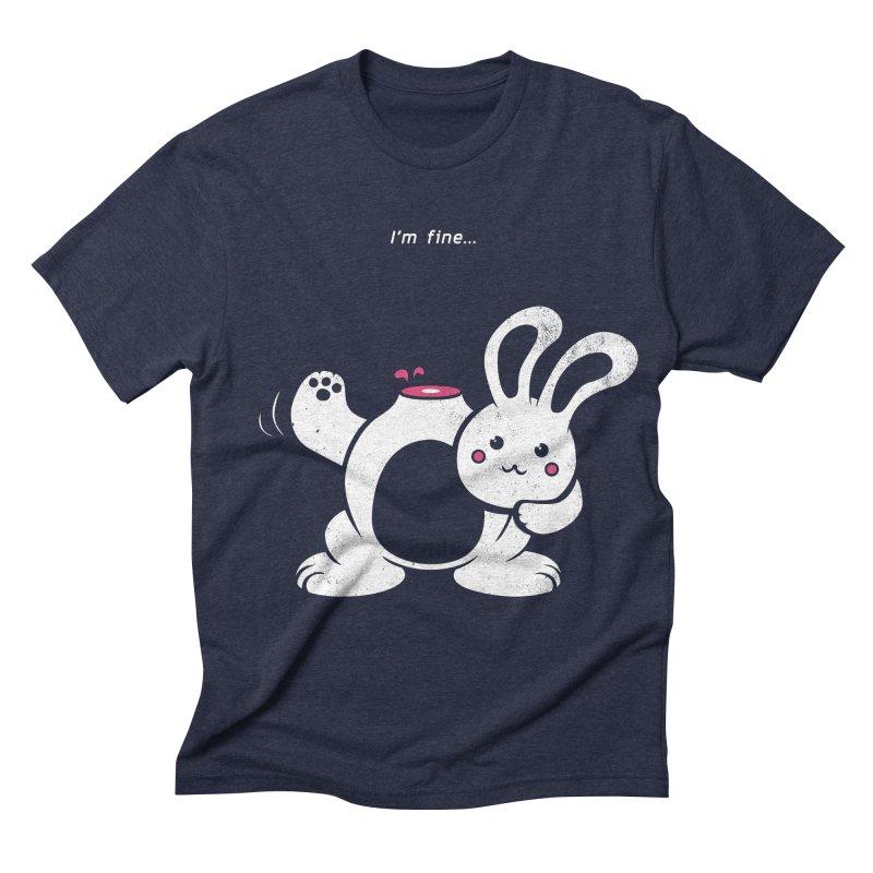 I'm Fine Men's Triblend T-shirt by Candy Guru's Shop