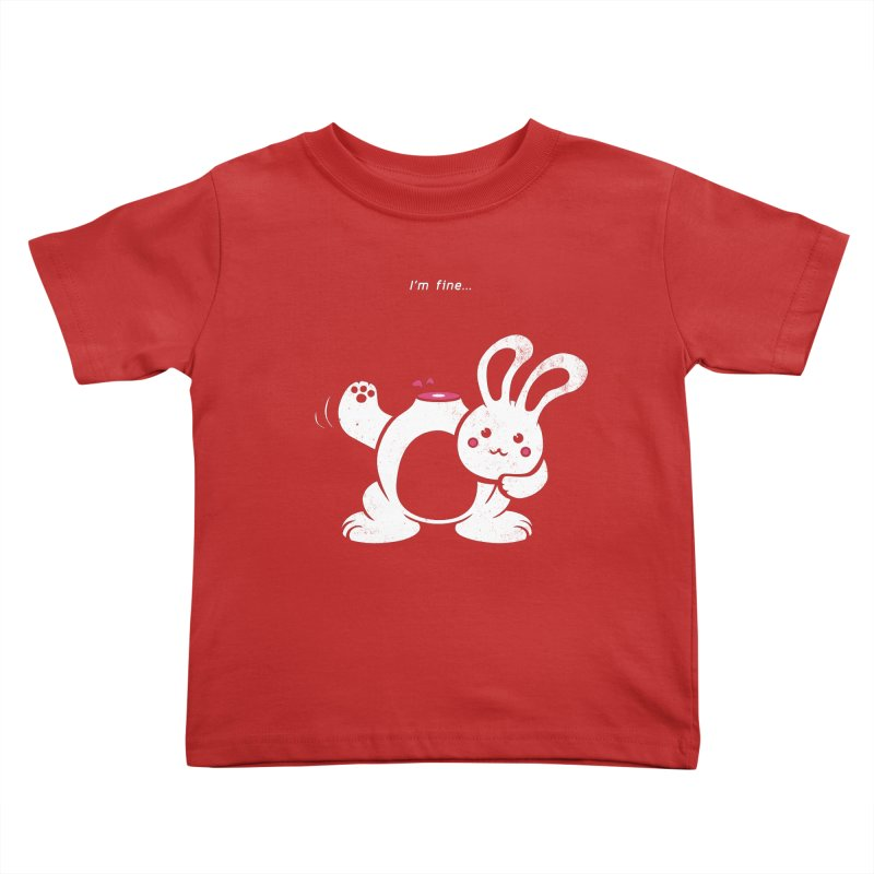 I'm Fine Kids Toddler T-Shirt by Candy Guru's Shop