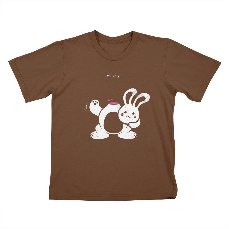 I'm Fine Kids T-shirt by Candy Guru's Shop