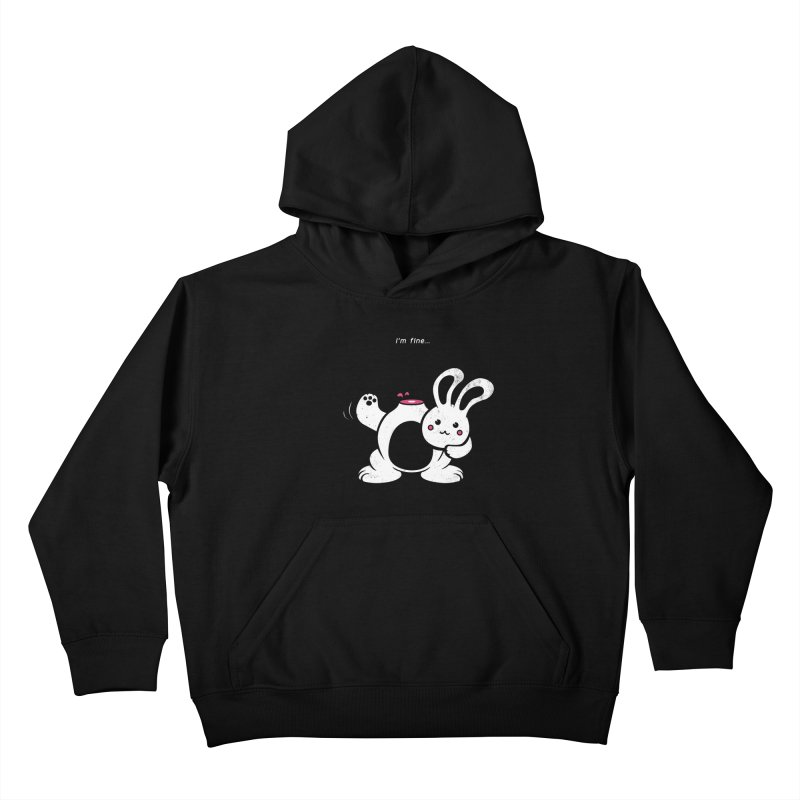 I'm Fine Kids Pullover Hoody by Candy Guru's Shop